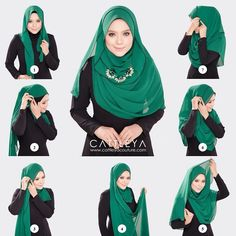 Statement necklaces have become a must have piece for every fashionista, they are glamorous, they add a sparkle to your look and spruce up any boring outfit you're wearing. As hijabis and with the chest coved, it's not quite easy…