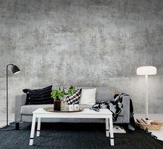 Squared Painting wall murals - wallpaper - | Rebel Walls