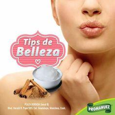 #TipPromanuez ¿Quieres unos labios con efecto colágeno naturalmente? Mezcla una cucharadita de canela en polvo junto con una cucharadita de vaselina, mezcla hasta crear una pasta  y aplica sobre tus labios, deja actuar durante 10 minutos, luego enjuaga con agua tibia y aplica crema humectante para hidratar tus labios.    Puedes hacer la prueba con nuestra canela especial, la encuentras en tu sucursal más cercana.   http://www.promanuez.com.mx/tiendas