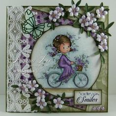 Sending You Smiles by Norma25 - Cards and Paper Crafts at Splitcoaststampers
