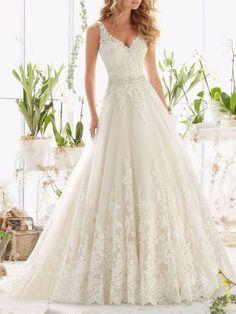 Lace Wedding Dress With Sleeves, V Neck Wedding Dress, Sweetheart Wedding Dress, Lace Mermaid Wedding Dress, Elegant Wedding Dress, Dress Lace, Backless Wedding, Tulle Wedding, Gown Wedding