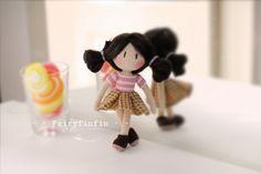 fairyfinfin: Fairy doll, Gril Crochet, Crochet Girl doll, Croch...