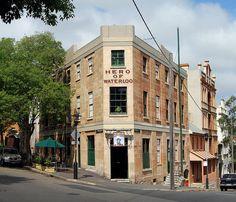 Hero of Waterloo Hotel, Millers Point, Sydney, NSW by dunedoo, via Flickr