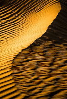 At the Little Sahara Sand Dunes in Utah.