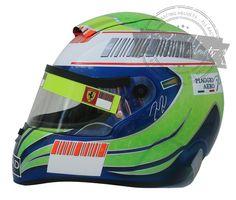 Felipe Massa 2010 F1 Replica Helmet Scale 1:1