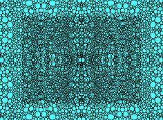 Pattern 22 - Intricate Exquisite Aqua Pattern Art Prints Painting by Sharon Cummings - Fine Art Prints  #faabest #Art #Patterns