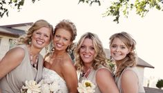 Beautiful wedding party. All hair by yours truly