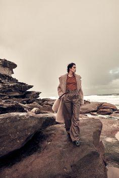 Styled by: Cheryl Tan. Model: Zoe Barnard at IMG Models. Beach Editorial, Editorial Fashion, Love Photos, Photos Du, Lifestyle Photography, Editorial Photography, Glamour Photography, Style Photoshoot, Winter Beach