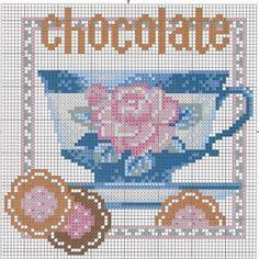 filiżanka z czekoladą