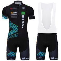 5e865e736 Mens Bike Clothing Wear Team Cycling Jersey Short Sleeve Bibs Shirt Pants  Sets  DKGEMN Team