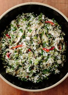 Recipe: Yotam Ottolenghi's Roast Chicken & 3-Rice Salad