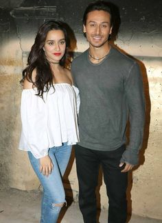 Tiger Shroff and Shraddha Kapoor promote #Baaghi. #Bollywood #Fashion #Style #Beauty #Hot