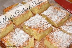 Custard Cake.  For the 2 cups of lukewarm milk, I'd use 1 cup of evaporated milk and 1 cup of condensed milk to make it similar to a Spanish flan.