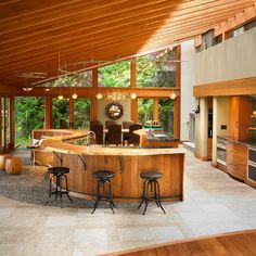 Kitchen by The Sky is the Limit Design http://www.houzz.com/photos/1845017/West-Coast-Fusion-eclectic-kitchen-vancouver