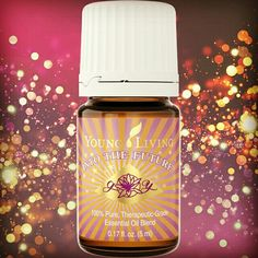 A high powered positive energy blend! Get excited about your future!
