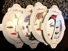 Disney Villains Lashes - perfect for Halloween!