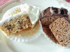 Soda Shop cup cakes from the Prohibition Era. Oh so tasty and easy to mix with just a spoon and a bowl.