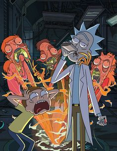 Rick and Morty//This became an instant favorite of mine from the very first episode.
