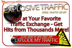 Explosive Traffic – FREE TO JOIN By Best Places Advertise Free.. Explosive Traffic is a traffic co-op managed by a friendly admin and owner John Bell. John Bell is the owner of Insidmal Design LLC and he owns a suite of top quality programs targeted towards bringing quality traffic to your MLM Multi-Level Network Marketing Opportunity websites.