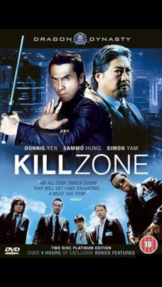 Another Donnie Yen movie! It wasn't bad at all but I was shocked to see everyone die. I mean, at least Donnie could have survived, right?