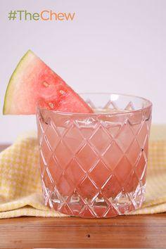 Cucumber-Watermelon Refresher drink
