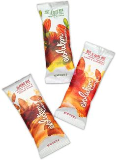 New Packaging for Evolution Harvest and Not So New Packaging for Evolution Fresh by Hornall Anderson