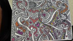 Steve Emig: The White Bear: February 2019 Sharpie Drawings, Sharpie Doodles, Sharpie Art, Doodle Drawings, Doodle Art Letters, Doodle Art Journals, Heart Doodle, Sell My Art, Colors For Skin Tone