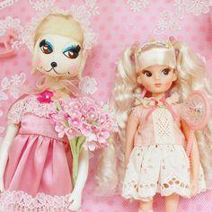 Instagram media umingming - pink * #페티나 #빈티지인형 #개여사 #페여사 #복각리카 #크리스마스복각리카 #인형 #수집 #peteena #licca #reprolicca #collect #doll #dollstagram #vintagedoll #vintagetoy #リカちゃん
