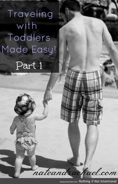 Tips for packing and making it through the airport for families traveling with a toddler.