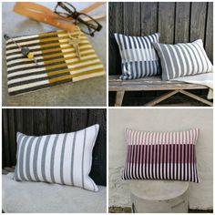 Knitted Cushions, Knitted Blankets, Diy Pillows, Throw Pillows, Crochet Pillow Pattern, Sashiko Embroidery, Easy Knitting, Diy Crochet, Diy And Crafts