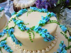 DIY | 17 Blue Wedding Cake Ideas ... #reception #party #bride