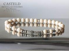 Style, élégance, solide, des codes masculins pour le Bracelet Homme Racer de CASTELD http://www.casteld.com/bijoux-homme