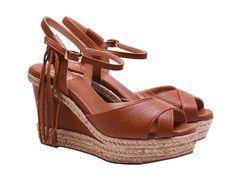 Luxury shoes from category Wedges-LOU sandals - SHOES Luxury Shoes, Spring Summer 2015, Wedge Sandals, Leather Shoes, Amanda, Platform, Wedges, Heels, Fashion
