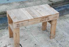 Mueblesdepalets.net: Juego de mesa y silla de diseño fácil y sencillo