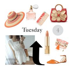 Sunny Tuesday 4 by ferrerchristine on Polyvore featuring polyvore, fashion, style, CYNTHIA, Dorothy Perkins, Monsoon, Kate Spade, Peter Grimm and Guerlain