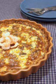 Räkpaj med dill   Middagstips & enkla recept på vardagsmat Swedish Recipes, Quiche, Pizza, Desserts, Food, Drinks, Life, Gardens, Cooking