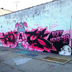 7 NYC Walls | Buff Monster | NYC Street Artist