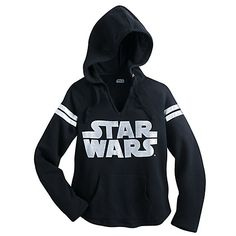 Star Wars Logo Pullover Hoodie for Women