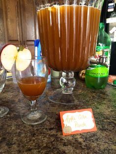 Apple Cider Punch - A Woman The World Deserves