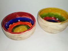 Cuencos multicolores