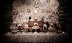 """Photo 8 of 43: Cream, Gold and Brown Chocolate buffet / Wedding """"Chocolate Wedding Buffet"""" 