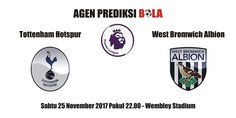 Prediksi Tottenham Hotspur vs West Bromwich 25 November 2017