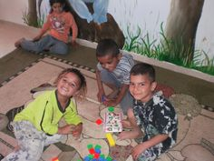 Hamdan, Achmed and Ziad | Early Learning Center Students