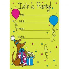 26 best birthdays invitation images on pinterest anniversary cards birthday invitation card for child filmwisefo