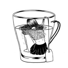 Image about art in ~Illustration~ by . Art Sketches, Art Drawings, Sketches Of Girls, Hipster Drawings, Pen Sketch, Drawing Art, Pencil Drawings, Henn Kim, Time Art