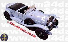 LE MANS 1924 - Lorraine Dietrich B3-6  #4 - Robert Bloch -  Stalter    - Modello MCM