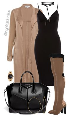 """""""Untitled #2626"""" by highfashionfiles on Polyvore featuring Givenchy, Phyllis + Rosie and Rolex"""