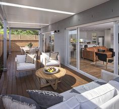 OUTDOOR LIVING / ALFRESCO - Brooklyn with Breeze Facade on display at Warwick Farm Custom Home Designs, Custom Homes, New Home Builders, Outdoor Living, Outdoor Decor, Investment Property, Breeze, Facade, Brooklyn