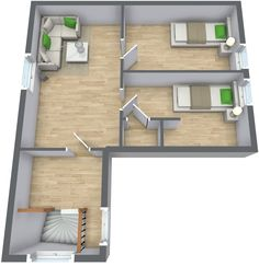 Home Architecture, Auskerry Large House 3d 3d Home Design With ...