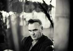 Morrissey black and white